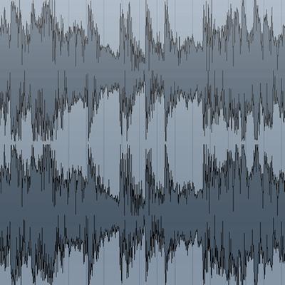 Audio Wellenform
